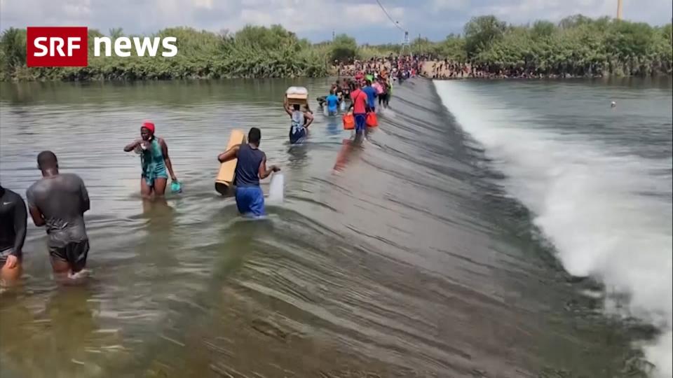 Tausende Flüchtlinge warten an der Südgrenze auf Einlass in die USA