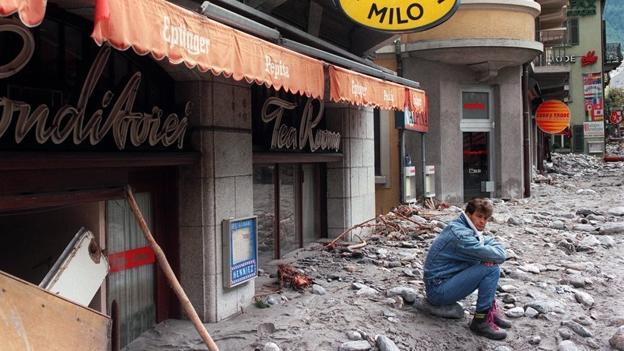 Vor 20 Jahren: Schlammlawine in Brig (24.09.2013)