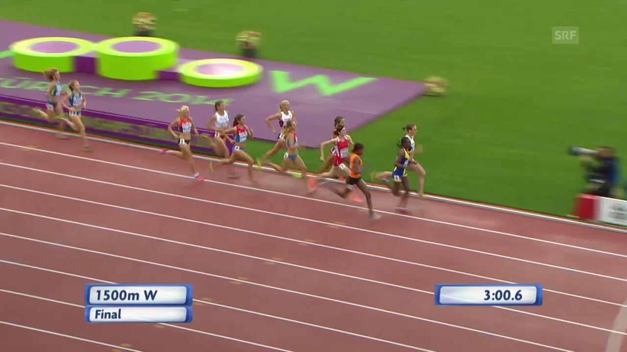 Leichtathletik-EM: Letzte Runde im 1500-m-Final Frauen