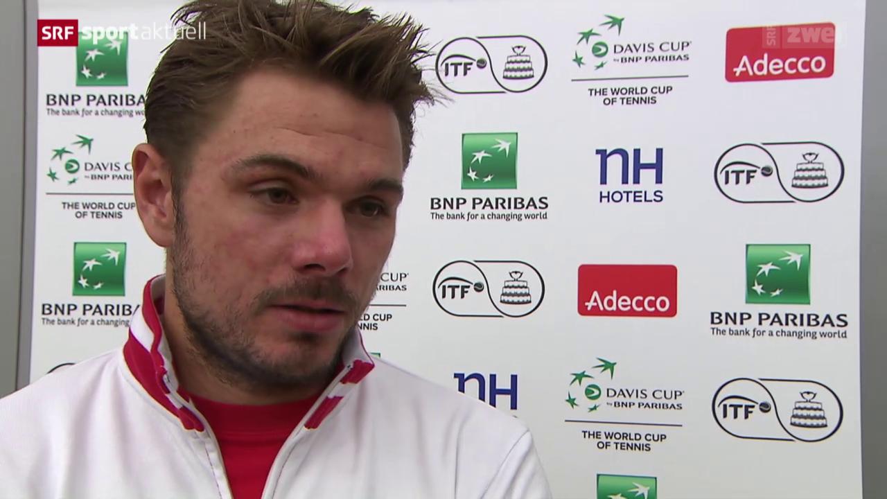 Tennis: Davis Cup, Stimmen zum 1. Tag