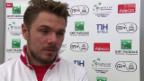 Video «Tennis: Davis Cup, Stimmen zum 1. Tag» abspielen
