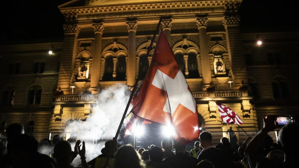 Reto Nause: «Solche Angriffe auf Bundeshäuser haben wir noch nie erlebt.»