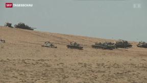 Video «Schwarze Flaggen in Kobane» abspielen