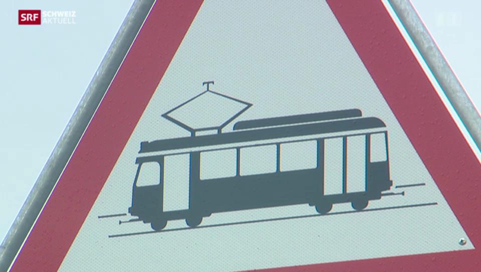 Wieder Unfall mit Glattalbahn