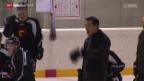 Video «Eishockey: Boucher verlässt den SC Bern» abspielen
