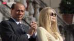 Video «Berlusconis Ex-Ehefrau verlangt 3 Millionen Euro pro Monat» abspielen