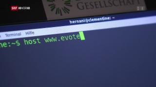 Video «Schwachstelle in Schweizer E-Voting-System entdeckt» abspielen