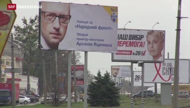 Video «Wahlen Ukraine» abspielen
