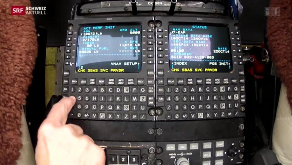 Flugtests mit GPS