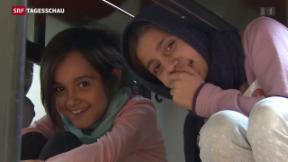 Video «Flüchtlingskrise auch Herausforderung für deutsche Schulen» abspielen