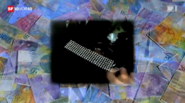 Video «Schuldenfalle durch Kleinkredite - «10vor10» vom 2.12.2011» abspielen