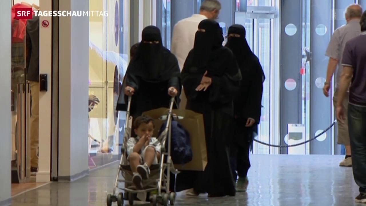 Tessin verbietet Burka