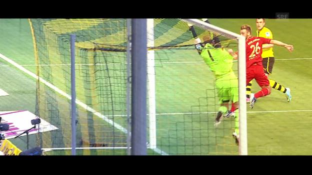 Video «Der Klassiker in der Bundesliga: Bayern trifft auf Dortmund» abspielen