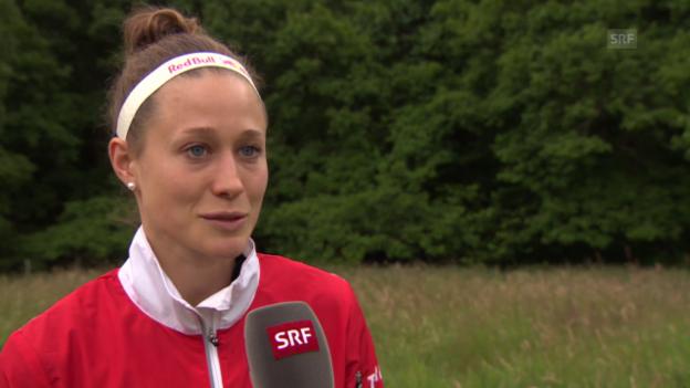 Video «OL: WM-Aus von Judith Wyder» abspielen