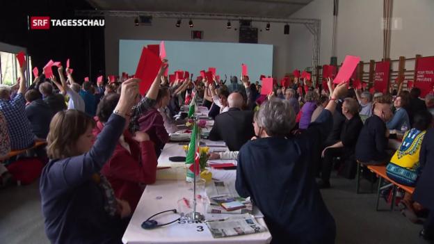 Video «SP zur Rentenreform» abspielen