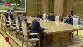 Video «Treffen Nordkorea - Südkorea» abspielen