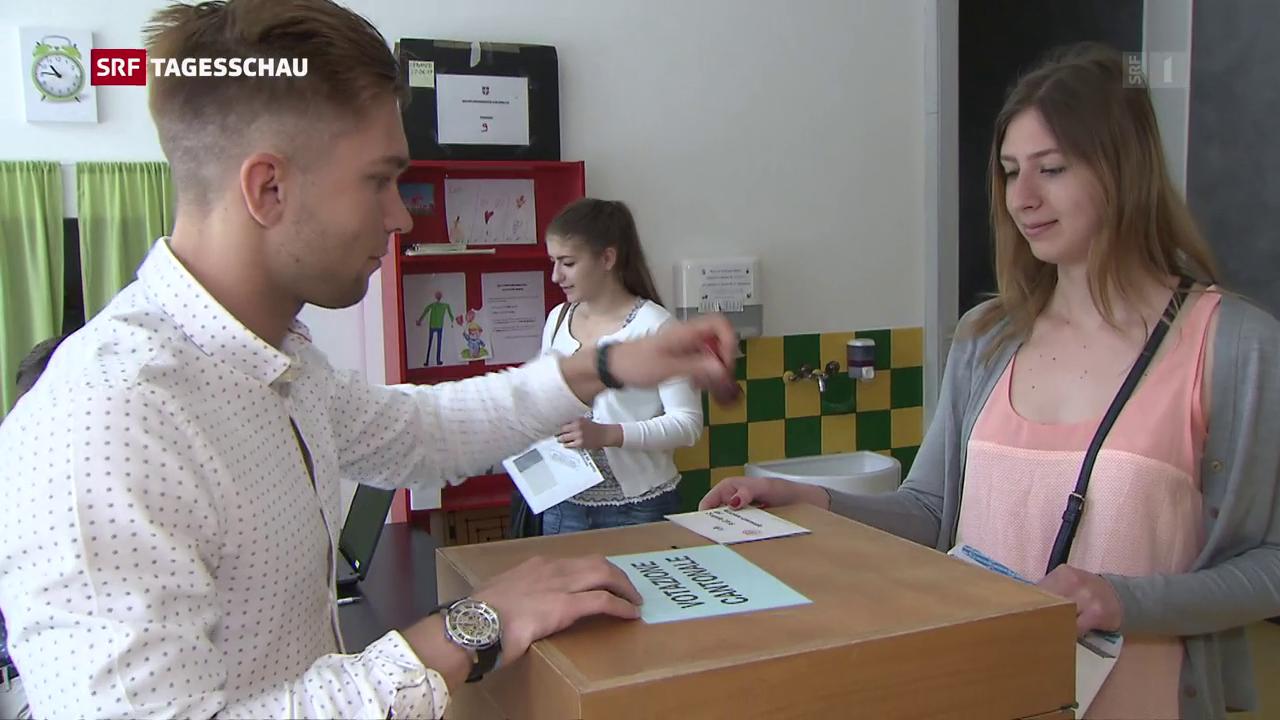 Abstimmung im Tessin: Knappe Mehrheit für Steuerreform