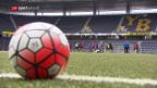Video «Fussball: Auslosung CL-Qualifikation» abspielen