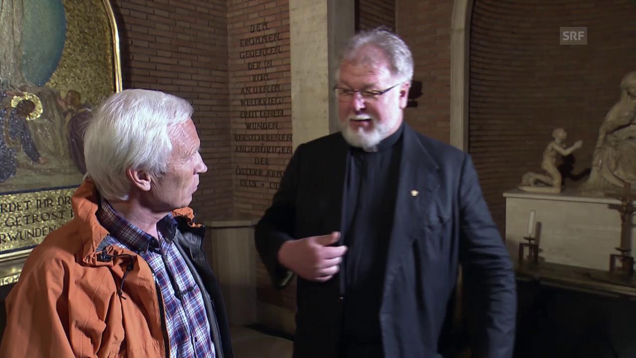 Hirschwurst aus eigener Jagd für Monsignore Brandmayr