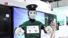 Link öffnet eine Lightbox. Video In Dubai patrouillieren bald Robo-Cops abspielen
