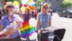 Video «Zuspruch für Ehe zwischen homosexuellen Paaren wächst» abspielen
