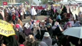 Video «Haftbefehl gegen Mursi» abspielen