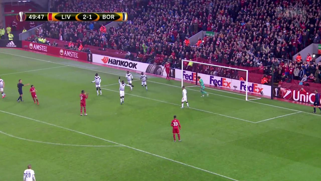 Fussball: Liverpool - Bordeaux
