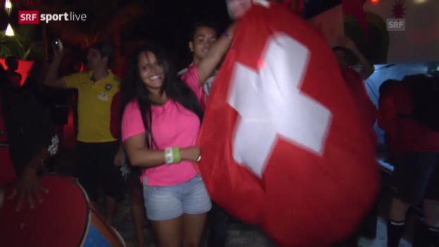 Video «Fussball: WM, Rückblick auf den Nati-Sieg gegen Ecuador» abspielen