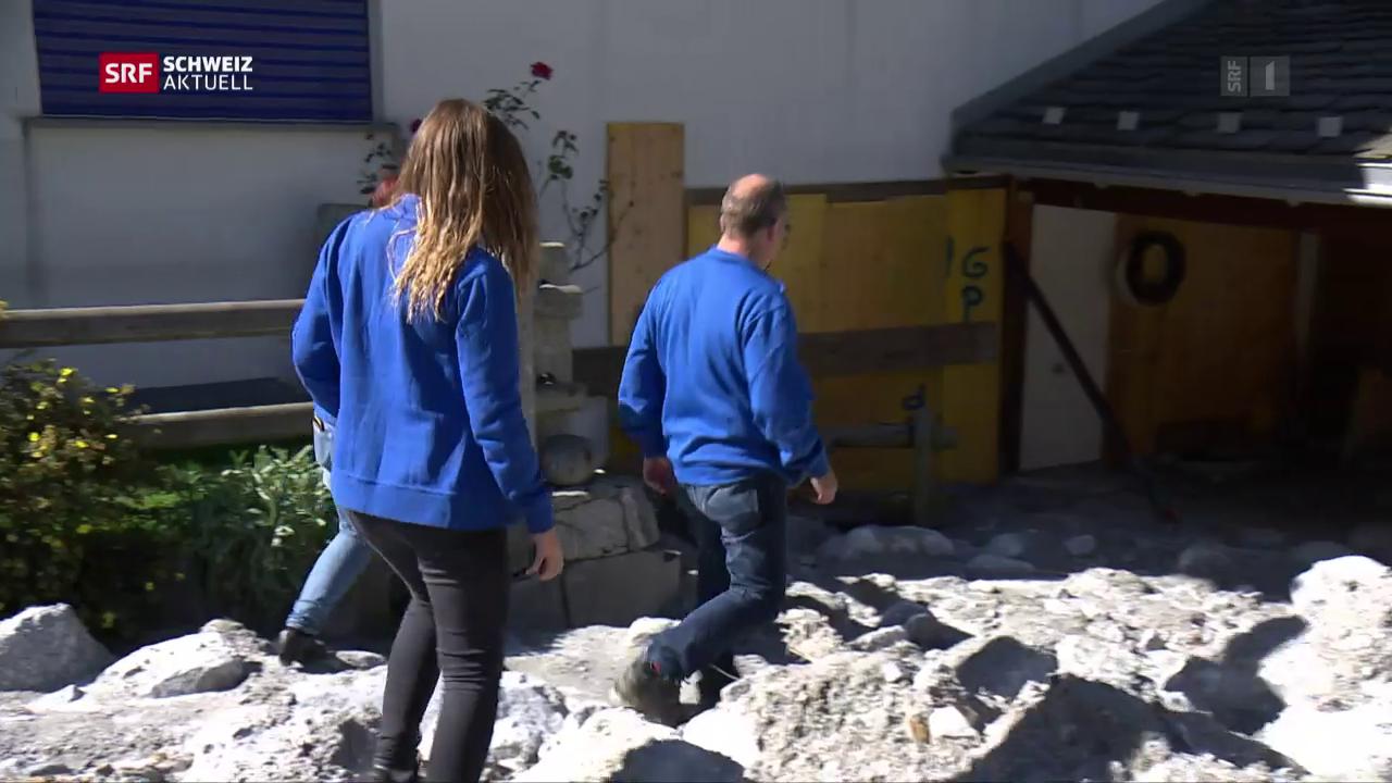 Grosses Aufräumen in Bondo