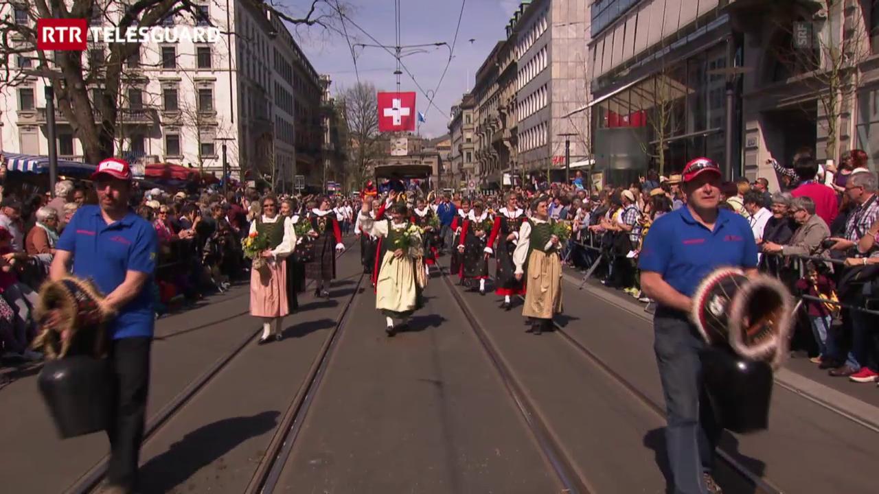Gruppa da costums Val Müstair al Sechseläuten
