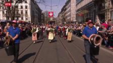 Laschar ir video «Gruppa da costums Val Müstair al Sechseläuten»