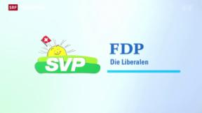 Video «SVP und FDP als Konkurrenten» abspielen