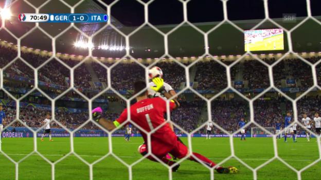 Video «Deutschland-Italien: Die Live-Highlights» abspielen