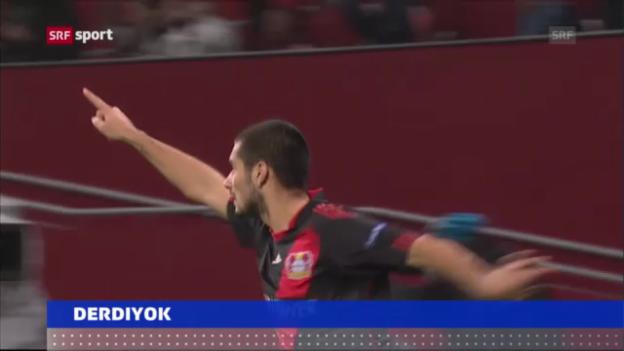 Video «Derdiyok zurück zu Bayer Leverkusen («sportaktuell»)» abspielen