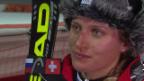 Video «Ski: Interview mit Denise Feierabend (sotschi direkt, 21.02.2014)» abspielen
