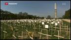 Video «Kein schärferes US-Waffenrecht» abspielen