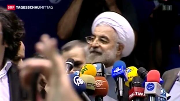 Video «Neuer Präsident im Iran» abspielen