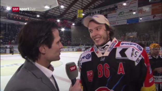 Video «Interviews mit Sprunger und Bykow» abspielen