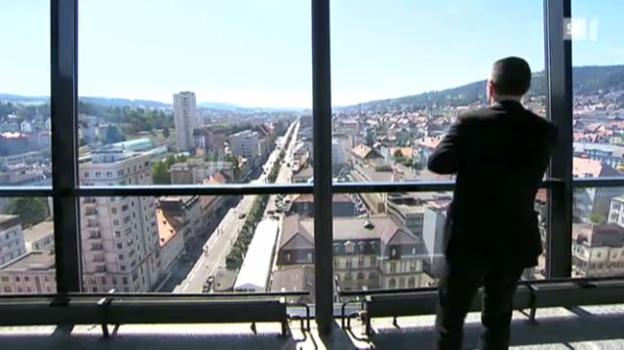 Video «Mehr als Uhren: Zeitenwende in La Chaux-de-Fonds» abspielen