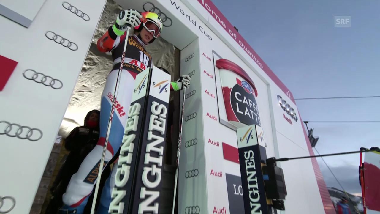 Ski Alpin: 2. Lauf Dominique Gisin