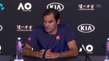 Link öffnet eine Lightbox. Video Federer bestätigt seine Teilnahme in Paris abspielen