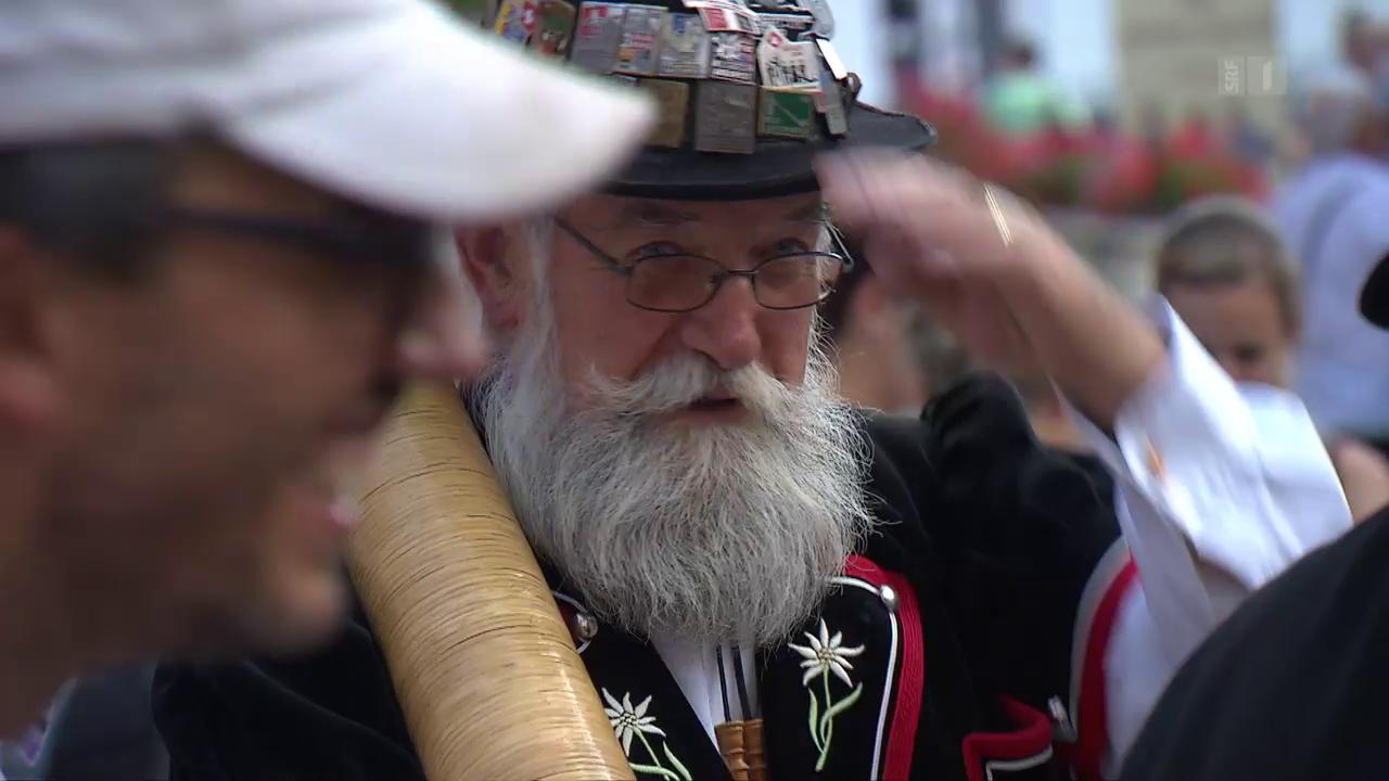 Eidgenossen-Feier: Jodeln in Zeiten des Terrors