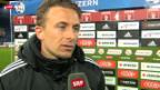 Video «Fussball: Stimmen zu Luzern - YB» abspielen