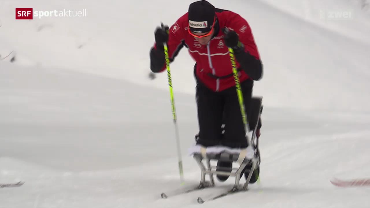 Langlauf: Dario Cologna im Schneetraining