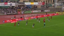 Video «Sion fertigt Lugano ab» abspielen
