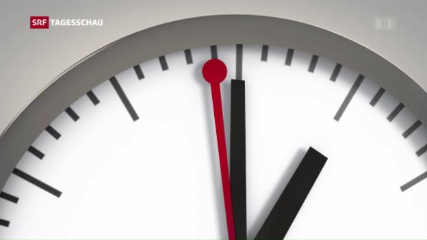 Video «Was es mit der Schaltsekunde auf sich hat» abspielen