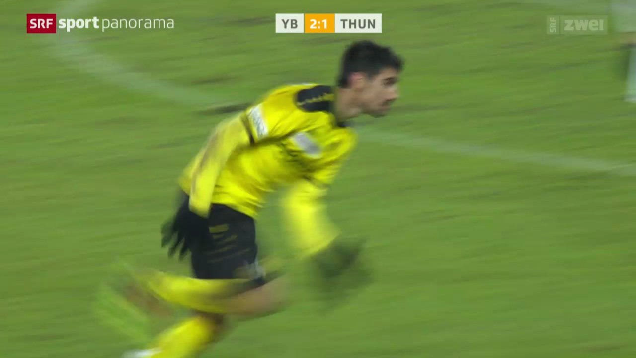 Fussball: YB - Thun