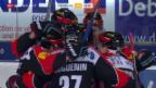Video «Eishockey, NLA: Freiburg - Genf» abspielen