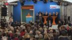 Video «Wahlen im Saarland: SPD hofft auf Schulz-Effekt» abspielen