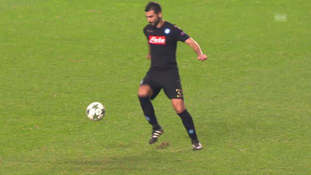 Video «Raul Albiols Aussetzer» abspielen